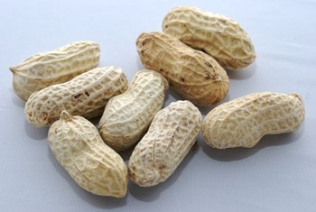 Salted peanuts give a boost of three electrolytes.