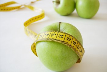 Record progress of a diet by measuring inches.