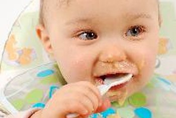 Infant cereal is a good source of dietary fiber for babies.