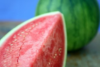 Watermelon provides men with an excellent source of vitamins A and C.