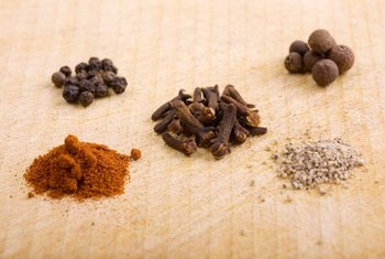 Use spices rather than salt to reduce the sodium in homemade meals.