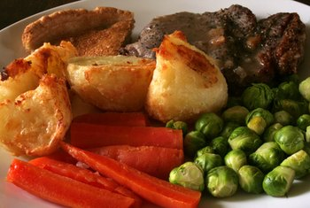 Beef roasted with vegetables makes a nutrient-rich one-pot meal.