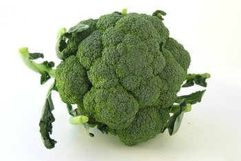 Broccoli is a very nutritious vegetable.