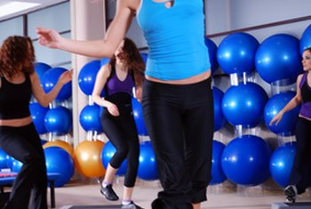 Taking a step aerobics class can break the monotony of a bike or treadmill.