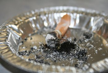 The smell of old cigarettes in an apartment may make it more difficult to rent out.