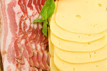 Foods that are high in saturated fats can increase your LDL cholesterol.