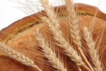 Wheat products contain gluten.