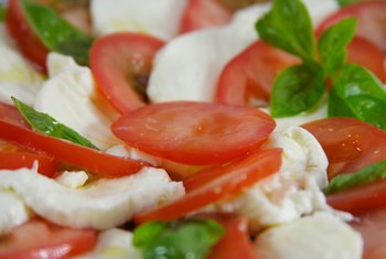 Fresh mozzarella cheese is often used in summer salads.