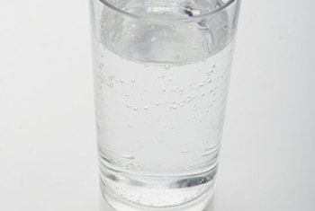 Plain water contains zero calories.