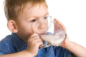 Offer whole milk instead of low-fat milk to children ages 1 to 2.