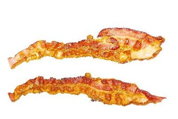 Low sodium bacon is best eaten in moderation.