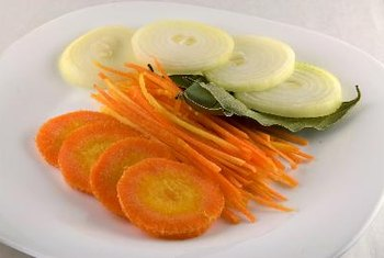 Onions and carrots supply phytonutrients and other essential chemicals.