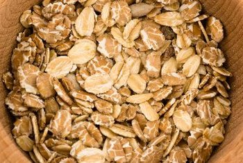 Oats are a good source of insoluble fiber.