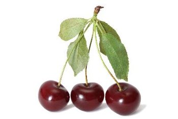 Montmorency cherries are high in vitamins A and C.