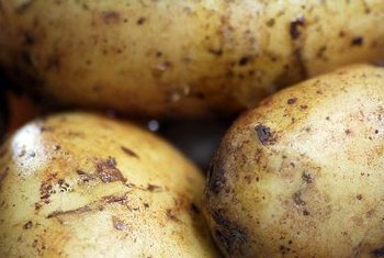 Potatoes are rich in vitamins and minerals.