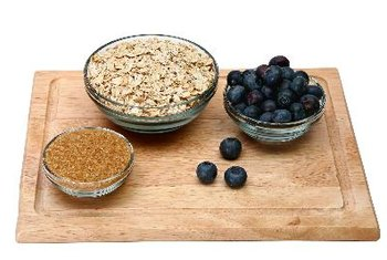 Liven up the flavor of oatmeal with fruits, nuts and other tasty ingredients.
