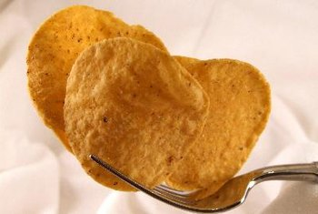 Corn chips contain complex carbohydrates.