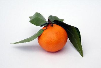 The nutrients in tangerines may prevent chronic diseases.