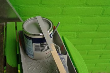 Paint is a quick and easy way to give a room an updated look.