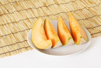 Don't count on meeting your vitamin E needs with a serving of cantaloupe.