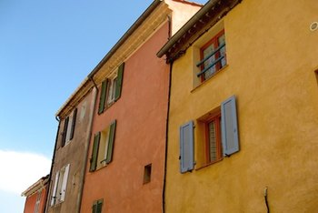 Painted Homes in Southern France