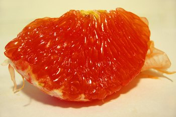 Grapefruit contains vitamins C and B-5, as well as copper -- three nutrients important for healthy blood cells.