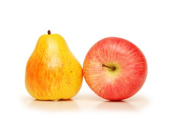Avoid apples and pears because of their high fructose content.