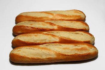 Most breads are made from enriched flour.