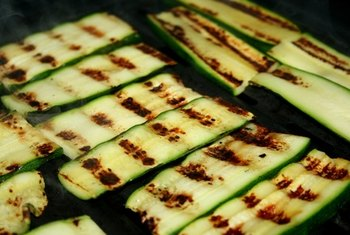 Eat grilled zucchini as a source of magnesium.