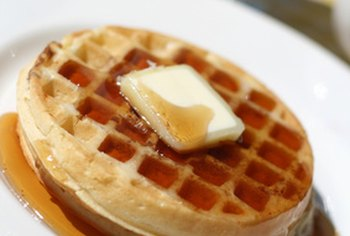 Sorghum syrup can be used as a topping for waffles and pancakes.