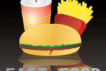 Fast food is a source of much of the sodium in the American diet.