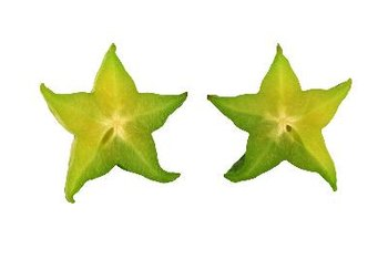 Star fruit is a good source of vitamin C.