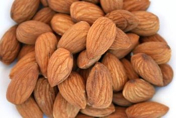 Raw and roasted almonds are nutritionally similar.