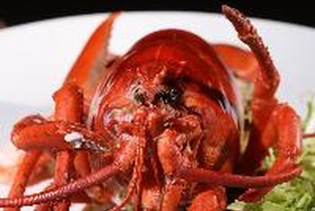 Lobster naturally contains cholesterol.
