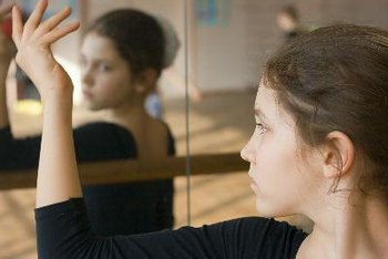 Teen girls with distorted body images are at risk for eating disorders.