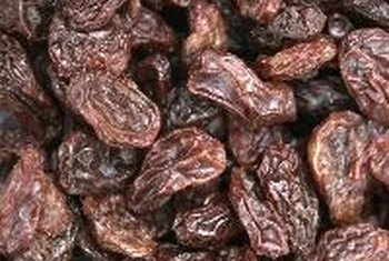 Raisins contain soluble fiber that may decrease your bad cholesterol levels.