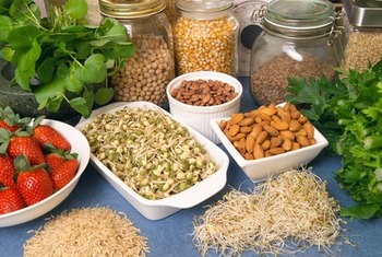 Fruits, vegetables, legumes, whole grains, fatty fish, nuts and seeds lower sodium and cholesterol.