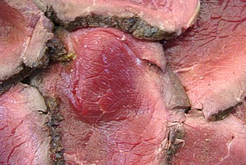 Red meat is an excellent source of iron to help prevent deficiency.