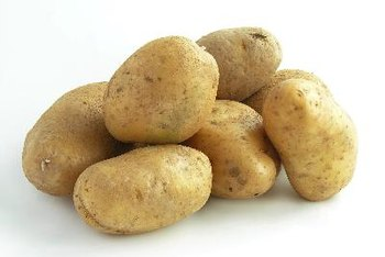 Potatoes are well known for their high starch content.