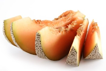 Cantaloupe is rich in sucrose.