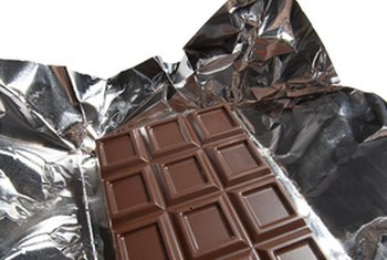 Dark chocolate contains healthy flavonoids.