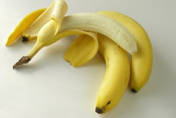 Bananas contain a small amount of iron.