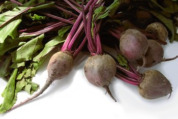 Beets are a nutritious source of fiber.
