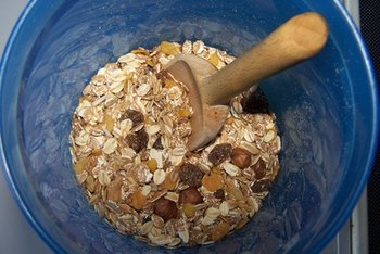 Oatmeal for breakfast can help you meet your daily soluble fiber requirements.