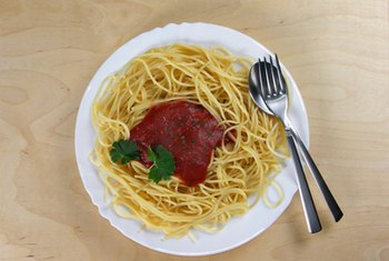 The nutrition value of your spaghetti will depend on the ingredients used.