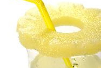 Pineapple juice is a rich source of vitamin C.