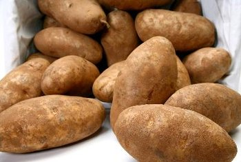 Russet potatoes are a good source of nutrients.