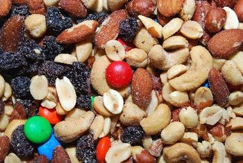Trail mix is an easy on-the-go snack for college kids.