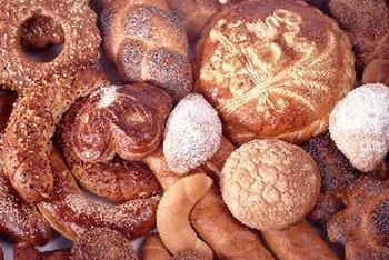 Refined flours and sugars are the main ingredients of most breads and pastries.