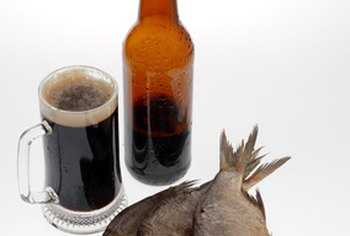 Beer makes a good complement to batter for fish.